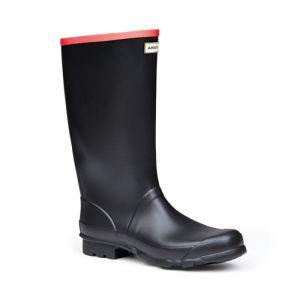 Hunter Men's Argyll Full Knee Wellington Boots – Black