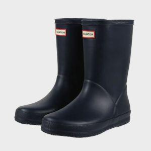 Hunter Children's Original First Classic Wellington Boots - Navy
