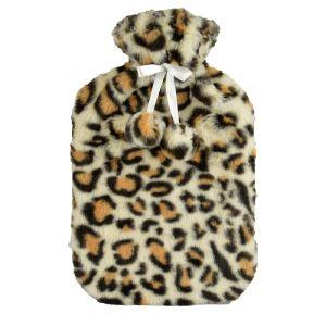 KS Brands Leopard Hot Water Bottle - 2L
