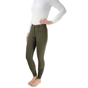HyPerformance Sarah-Jane Silicone Breeches – Olive