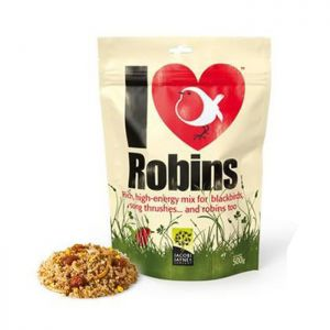 Jacobi Jayne 'I Love Robins' Bird Feed - 500g