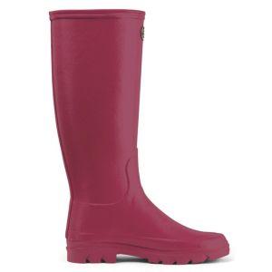 Le Chameau Women's Iris Jersey Lined Wellington Boots - Rose