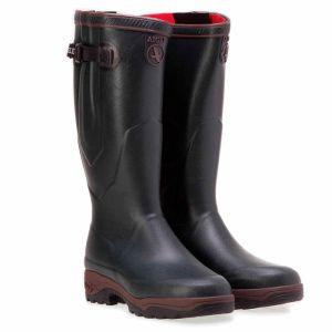 Aigle Women's Parcours 2 ISO Wellington Boot - Bronze