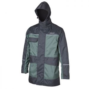 Betacraft ISO940 Mens Parka - Charcoal/Greenstone