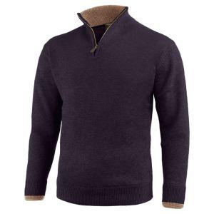 Jack Pyke Men's Ashcombe Zip Pullover – Navy