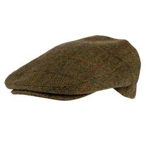 Jack Pyke Wool Blend Flat Cap – Brown Tweed