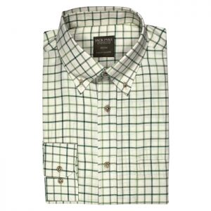 Jack Pyke Junior Countryman Shirt – Green Check