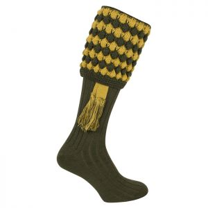 Jack Pyke Men's Pebble Shooting Socks – Green