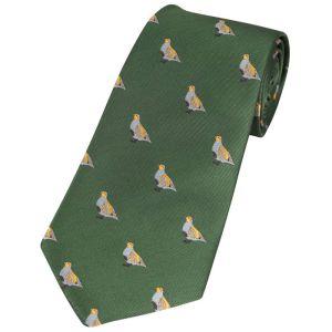 Jack Pyke Men's Partridge Shooting Tie – Green