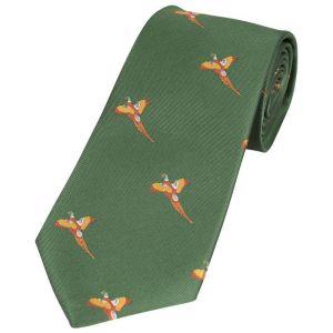 Jack Pyke Men's Pheasant Shooting Tie – Green