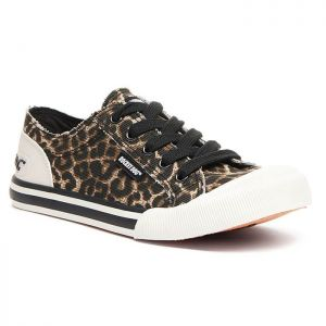 Rocket Dog Women's Jazzin Trainers - Leopard Print