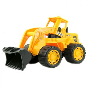 """JCB 14"""" Wheel Loader Toy"""