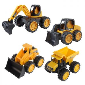 "JCB Mini Truck 7"" Toys - 4 Pack"