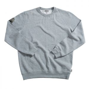 JCB Essential Brushed Cotton Jumper - Grey