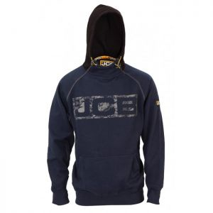 JCB Horton Logo Hoodie – Navy & Black
