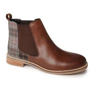 Silver Street Women's Jenny Dealer Boots - Brown/Tweed