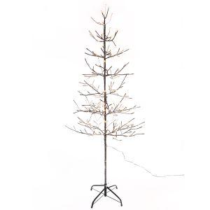 Jingles Bergen Sunrise LED Tree – Warm White, 1.8m