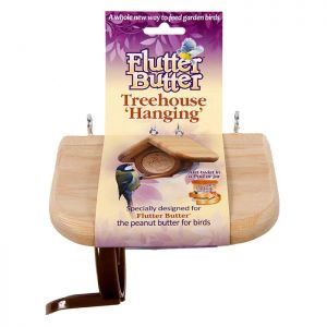 Jacobi Jayne Flutter Butter™ Hanging Treehouse Feeder