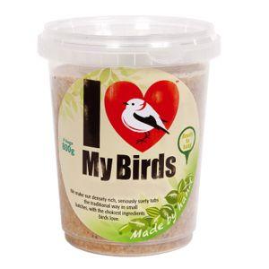 Jacobi Jayne 'I Love My Birds' Suet Tub Cake - Insect