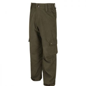 Hoggs of Fife Junior Struther Waterproof Trousers - Green