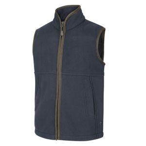 Hoggs of Fife Junior Woodhall Fleece Gilet - Navy