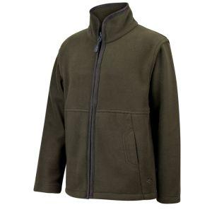 Hoggs of Fife Junior Woodhall Fleece Jacket - Green