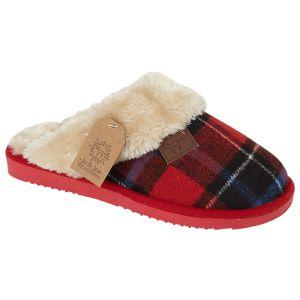 Jo & Joe Women's Shetland Slippers - Red