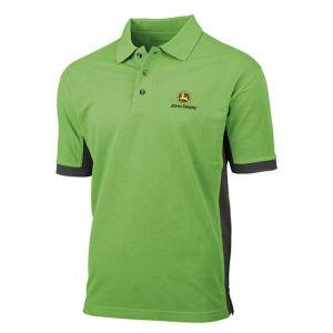 John Deere 365 Polo Shirt - Green