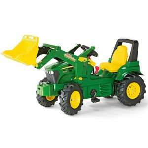 John Deere 7930 Ride-On Tractor with Loader and Pneumatic Wheels