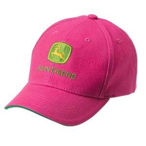 John Deere Children's Cap - Pink