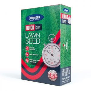 Johnsons Quick Lawn Seed with GroMax - 60m²