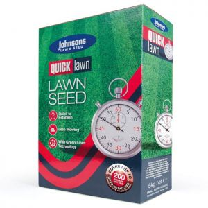Johnsons Quick Lawn Seed with Growmax - 200m²