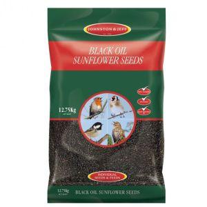 Johnston & Jeff Black Oil Sunflower Seeds - 12.75kg