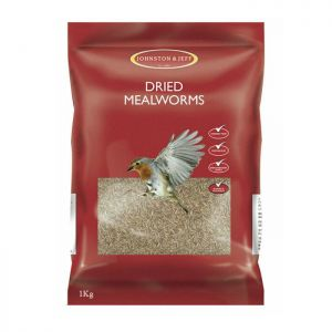 Johnston & Jeff Dried Mealworms – 1kg