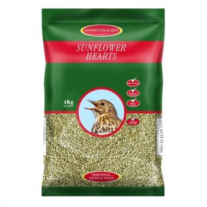 Johnston & Jeff Sunflower Hearts - 4kg