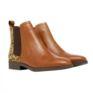 Joules Women's Chelmsford Boots - Leopard