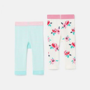 Joules Baby Lively Knit 2 Pack Leggings – Horse & Chick