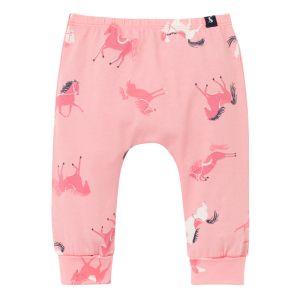 Joules Baby Payton Cotton Leggings – Pink Horse