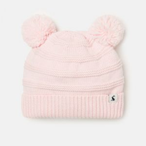 Joules Baby Pom Pom Knitted Hat – Lilac Whisper