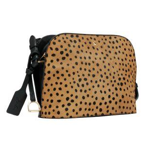 Joules Langton Dome Leather Bag – Ocelot