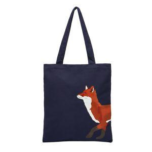 Joules Lulu Canvas Tote Bag – Navy Fox