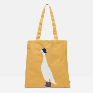 Joules Lulu Canvas Tote Bag – Yellow Duck