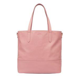 Joules Trent PU Shopper – Dusty Pink
