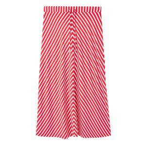 Joules Women's Auriel Chevron Skirt – Red White Stripe
