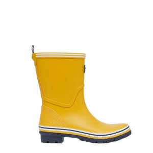 Joules Women's Coastal Mid Height Wellies - Antique Gold