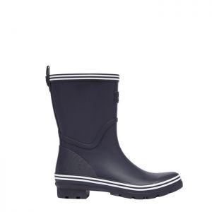 Joules Women's Coastal Mid Height Wellies - French Navy