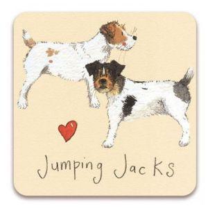 Alex Clark Jumping Jacks Fridge Magnet