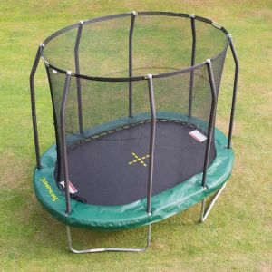 Jumpking Oval G3 Combo Trampoline and Enclosure  - 9ft x 13ft