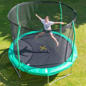 Jumpking Combo Round Trampoline and Enclosure - 10ft