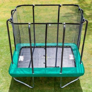 Jumpking Premium Rectangular Trampoline and Enclosure - 6ft x 9ft